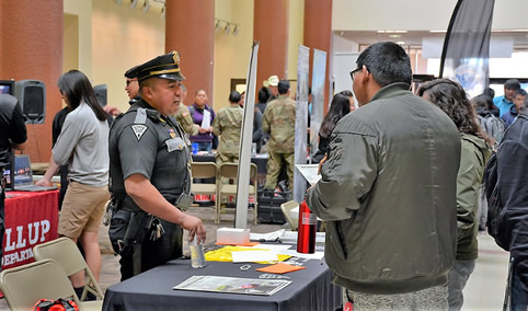 Career Fair Military Law