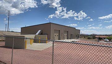 UNM-GALLUP FACILITIES MANAGEMENT AND STORAGE FACILITY